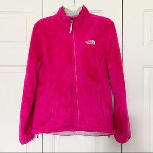 Women's Hot Pink North Face Jacket Size Medium